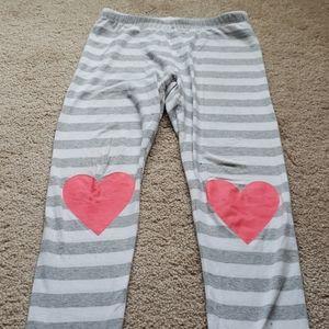 Heart leggings